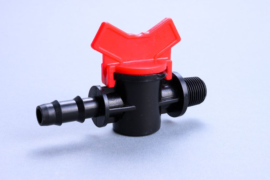 injection des composants pour la fabrication d'un robinet